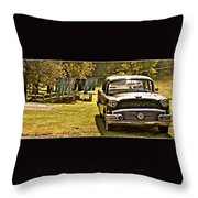 Buick For Sale Throw Pillow