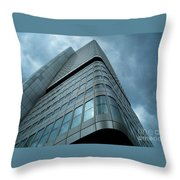 Building And Sky Throw Pillow
