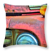Built Like A Rock Series 04 Throw Pillow