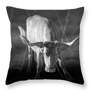 Bull Market Throw Pillow