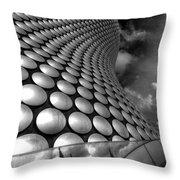 Bullring - Selfridges V2.0 Bw  Throw Pillow