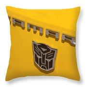 Bumble Bee Logo-7909 Throw Pillow
