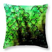 Bumpy Wall Throw Pillow
