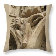 Burden Two Throw Pillow
