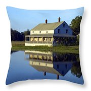 Burnham House Throw Pillow