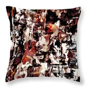 Burning Issues Throw Pillow