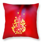 Bursting Towards You Throw Pillow