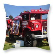 Bushfire Brigade Throw Pillow