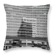 Business Center Throw Pillow