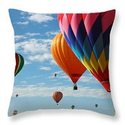 Busy Times Throw Pillow