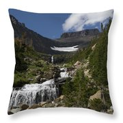 Butte At Lunch Creek  Throw Pillow