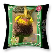 Butterflies 3d Throw Pillow