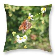 Butterfly 46 Throw Pillow