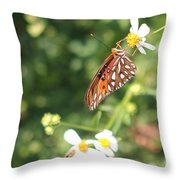 Butterfly 47 Throw Pillow