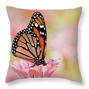 Butterfly Garden IIi Throw Pillow