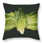 Butterfly Lettuce Throw Pillow