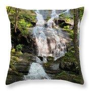 Buttermilk Falls Nj Throw Pillow