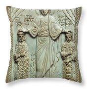 Byzantine Art Throw Pillow