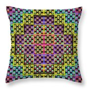 Byzantium 1 Throw Pillow by Walter Oliver Neal