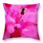 Bzzzz Throw Pillow