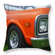 Ca247-12 Throw Pillow