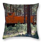 Cabin Car 2 Throw Pillow