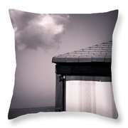 Cabin With Cloud Throw Pillow