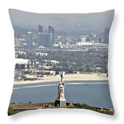 Cabrillo National Monument Throw Pillow