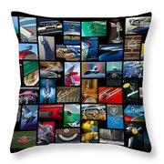 Cadillac Art Throw Pillow