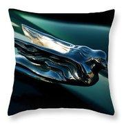 Cadillac Hood Angel Throw Pillow