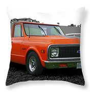 Cadp239-12 Throw Pillow