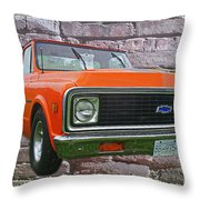 Cadp243-12 Throw Pillow