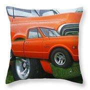 Cadp250-12 Throw Pillow