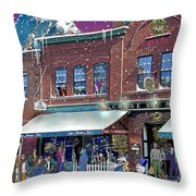 Cafe Monte Alto Throw Pillow
