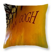 Cafe Nuit Arles Throw Pillow by Christine Burdine