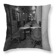 Cafe Rouge Throw Pillow by Anna Villarreal Garbis