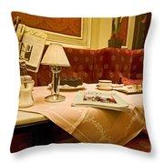 Cafe Sacher - Vienna Throw Pillow