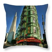 Cafe Zoetrope Throw Pillow