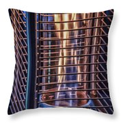 Caged Fire Throw Pillow