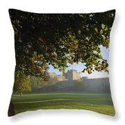 Cahir Castle Cahir, County Tipperary Throw Pillow