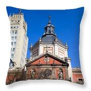 Calatravas Church Architectural Details Throw Pillow