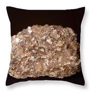Calcite Under Visible Light Throw Pillow