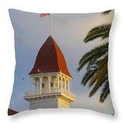 California 1 Throw Pillow