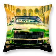 California 1970 Camaro Throw Pillow