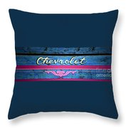 California Chevy Chic Throw Pillow