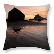 California Coast 2 Throw Pillow