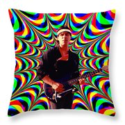 California Colors Throw Pillow