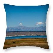 California Lake Throw Pillow