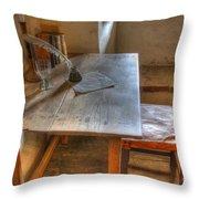 California Mission La Purisima Desk Throw Pillow