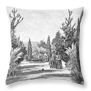California: Pasadena, 1890 Throw Pillow